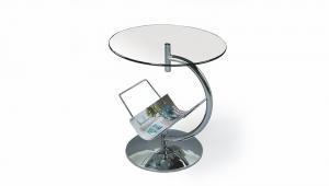 Alma dohányzóasztal - Áttetsző üveg