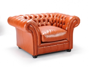 London Chesterfield kis fotel