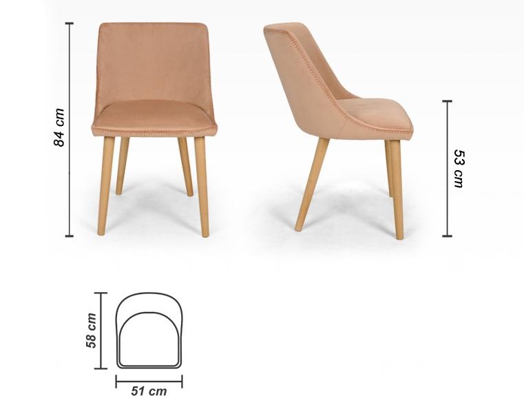 Alberta karfás szék