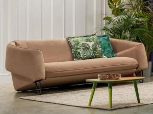 Flow 3 személyes fix kanapé hímzéssel 37