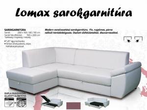 Lomax sarokgarnitúra