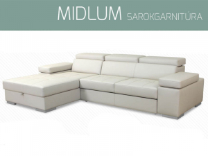 Midlum sarokgarnitúra