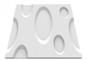 Ellipse gipsz falpanel - Model 3