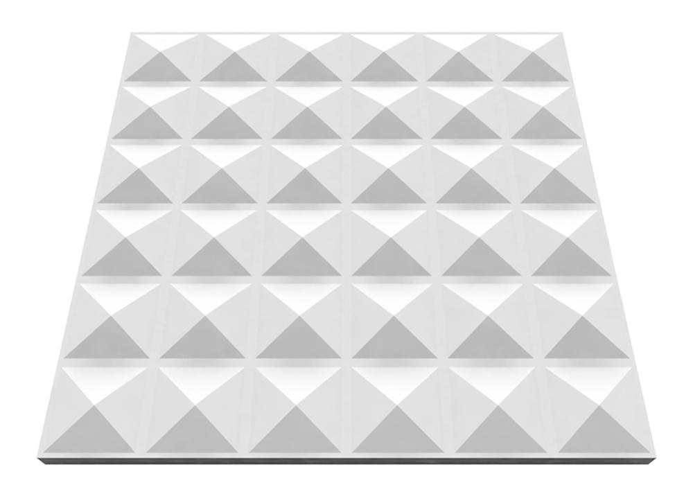 Piramid gipsz falpanel