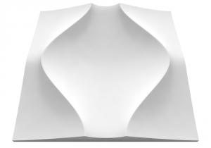 Clepsydra gipsz falpanel
