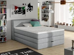 Aqua boxspring ágy