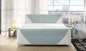 Velvet boxspring ágy
