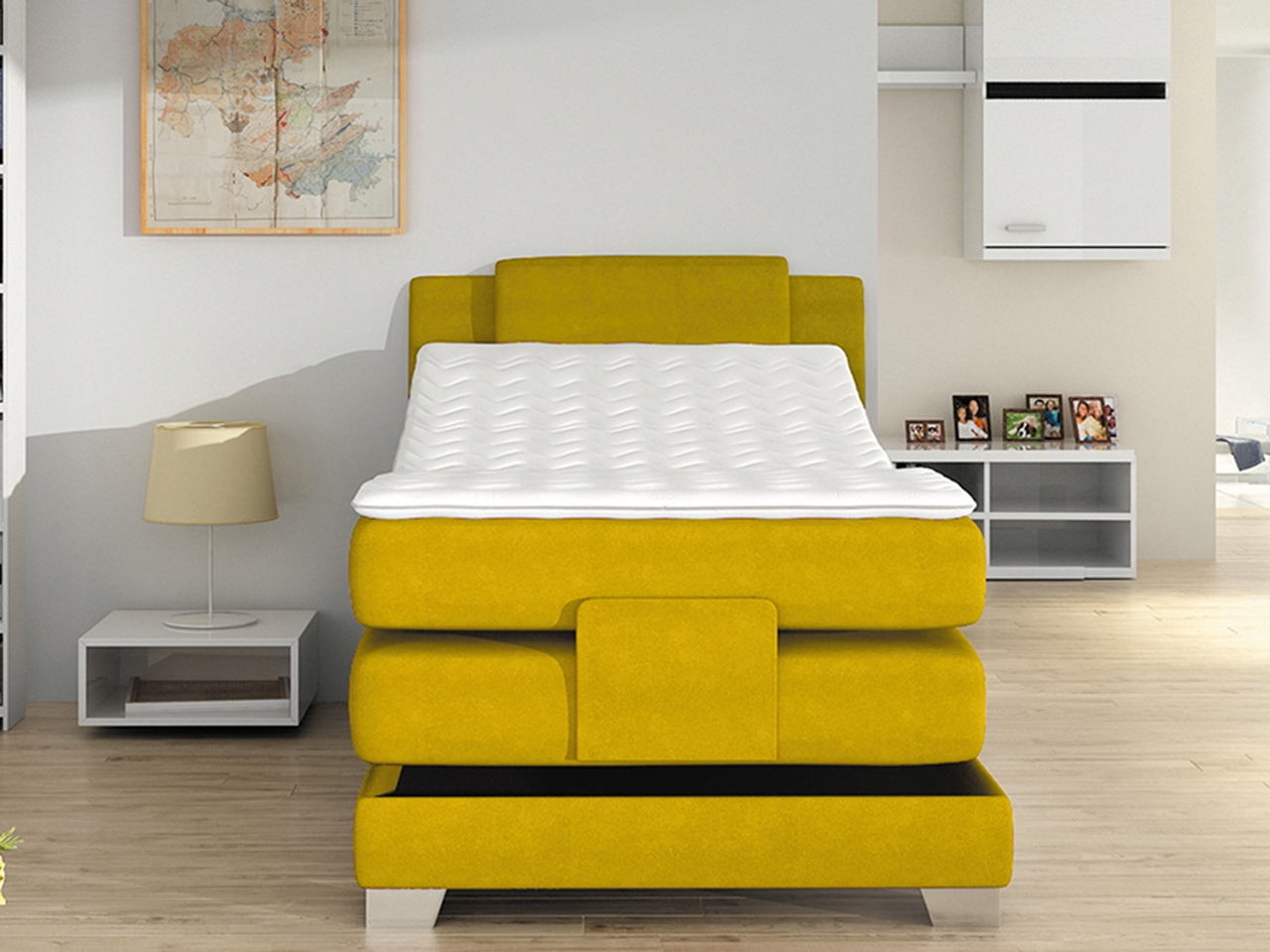 Wave 100 boxspring ágy