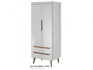 Nordi kétajtós szekrény