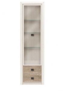 Koen II REG 1W2S-49  vitrines szekrény