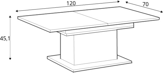Coffee tables CFTT 4171-J33 24