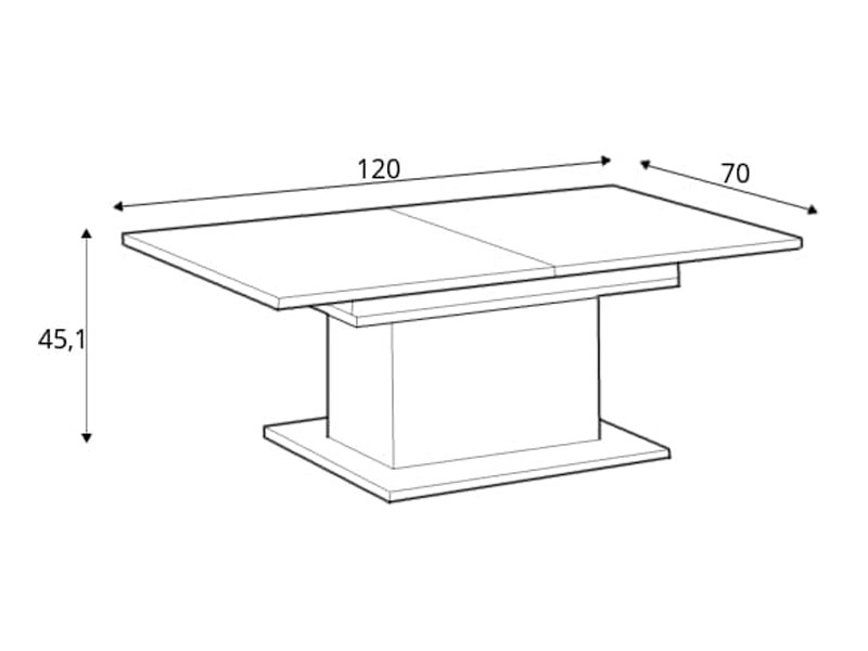 Coffee tables CFTT 4171-P95 24