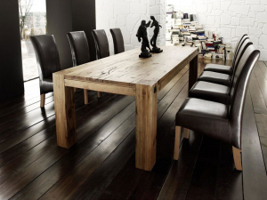 Leeds tömör tölgyfa asztal 28