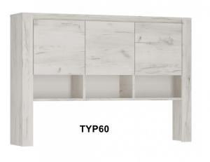 Angel Három ajtós áthidaló szekrény-13 TYP60