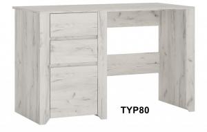Angel Három fiókos íróasztal-13 TYP80