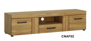 Cortina 1 fiókos 2 ajtós TV-állvány-13 CNAF02