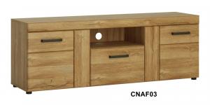 Cortina 1fiókos 2 ajtós TV-állvány-13 CNAF03