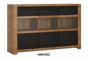 Havana Vitrines Komód-13 HAVVO3