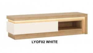 Lyon White Tv. állvány -13  LYOF02