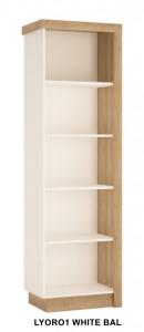 Lyon White Polcos szekrény -13  LYOR01 BAL