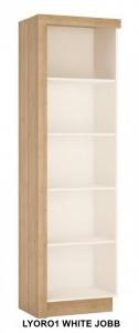 Lyon White Polcos szekrény -13  LYOR01 JOBB