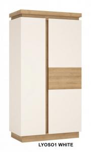 Lyon White Két ajtós szekrény -13  LYOS01