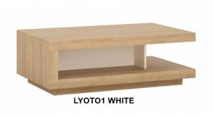 Lyon White Dohányzóasztal -13  LYOTO1