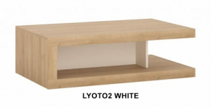 Lyon White Dohányzóasztal -13  LYOTO2