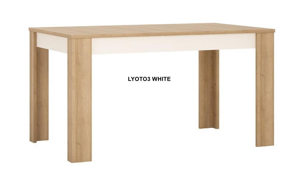 Lyon White Étkező asztal -13  LYOT03