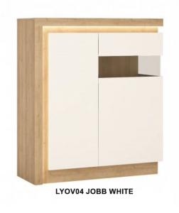 Lyon White Kétajtós vitrin -13  LYOVO4 JOBB