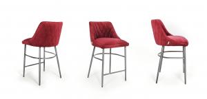 Alberta bár szék steppelt fém lábal -37
